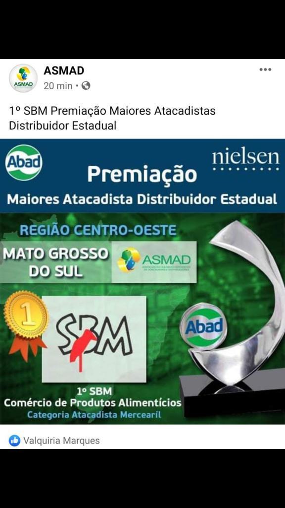 Premiação Maiores Atacadista Distribuidor Estadual